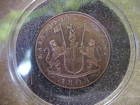 Ten (X) Cash Copper Coin From the Shipwreck, #758 ADMIRAL GARDNER, 1809