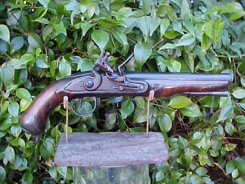 British Military Contract Light Dragoon Flintlock Pistol, KETLAND & Co, #766 Firearms