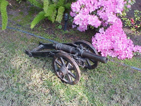 Late 18th Century COPY of an Early 17th Century Model Field Cannon