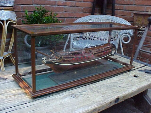 Model of the Hull Ship-of-the-Line AMERICA, #939 Nautical Antiques