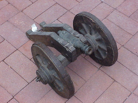 Late 17th-18th Century Model Bronze Cannon, #974 Cannons