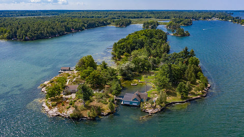 ST. LAWRENCE RIVER PRIVATE ISLAND FOR SALE !!!