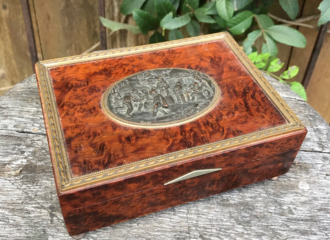 A Very Nice Decorative Table Top Trinket Box