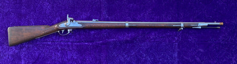 Near Mint Civil War Austrian Model 1854 Lorenz Percussion Musket, Dated 1861