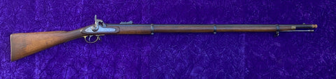 Wonderful Condition Civil War British Model 1853 TOWER Enfield Percussion Musket, Dated 1861