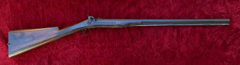 A Fine IRISH Half Stock Percussion Hunting Rifle by TRULOCK, DUBLIN