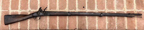 "US military contract model 1816 Flintlock musket made by ""ASA WATERS"", 1824."