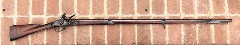 "A Very Interesting War of 1812 U.S. military contract model 1808 Flintlock musket made by ""Joshua and Charles Barstow"" of EXETER, NEW HAMPSHIRE"""