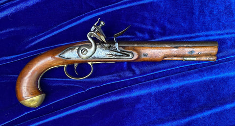 A Fine And Rare British/American Revolutionary War Period Flintlock Pistol by KETLAND & Co.
