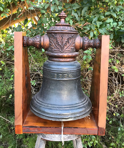 A Fantastic RARE Revolutionary War Period Bronze Bell Dated 1776 !!!
