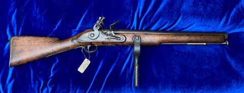 A RARE British Royal Navy Ships Flintlock Swivel Gun