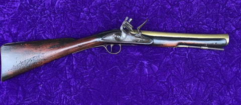 British Brass Barrel Flintlock Blunderbuss, circa. 1780