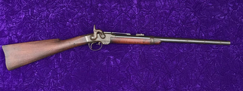 A Fine Antique Civil War U.S. Military Percussion breech-loader Carbine made by SMITH