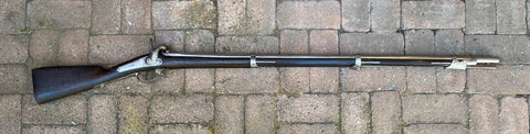 CIVIL WAR PERIOD Antique French Military Model 1842 Percussion Rifle Musket