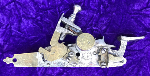 A Good Antique Ottoman Empire SNAPHANCE Flint Lock Mechanism
