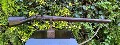 A Very Rare 17th Century British Flintlock Wall or Ships Swivel Gun by N. HAYDOCK