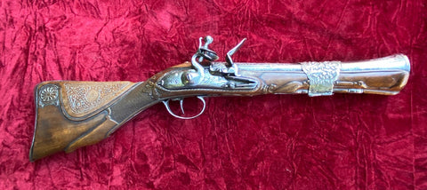 "A Wonderful Ottoman Empire Flintlock ""DAG"" Blunderbuss Pistol"