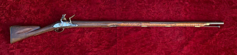 A Rare Antique Revolutionary War Period American Assembled Flintlock Musket