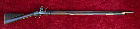 An Antique British Military 3rd Model a.k.a. India Pattern Brown Bess Flintlock Service Musket