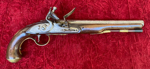 A Wonderful Revolutionary War Period British/American Flintlock Pistol by KETLAND & Co.