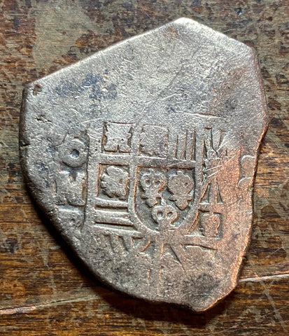 TREASURE !!! Spanish New World Silver 8 Reales COB, MEXICO, PHILIP V