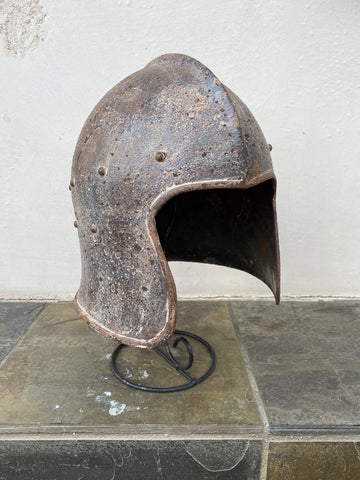A European COPY of a Barbute/Barbuta Helmet in-the-style-of the 15th-16th century.