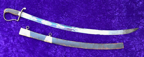 A Good American Military Sword with Scabbard