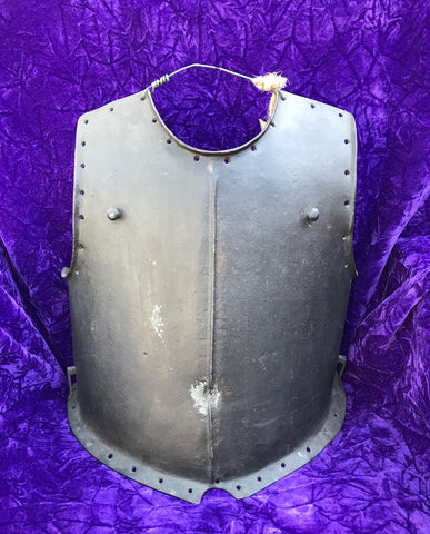 "A Rare German 17th Century ""SHOT-PROOF"" Weight Breastplate from the Armory of Archduke Eugen"