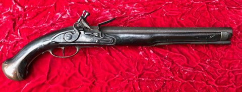 Fantastic French Military Model 1733 Heavy Dragoon Flintlock Holster Pistol of the French and Indian War - American Revolutionary War Period