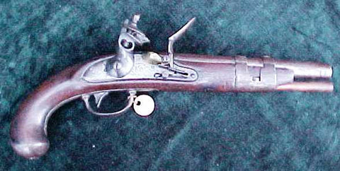 U.S. Military Model 1816 Flintlock Pistol by S. NORTH