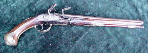 An Interesting Early European Flintlock Holster Pistol