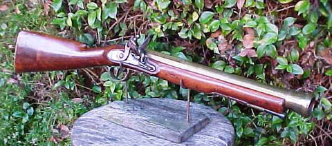 A Good English Brass Barrel Flintlock Blunderbuss by TWIGG, LONDON