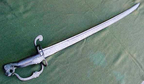 A Rare 17th Century Dutch Horseman's Saber