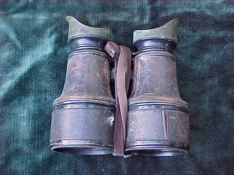 A Good Late Civil War - Plains Indian Wars - WW I Era Binoculars by RIGGS & BRO, PHILADEPHIA