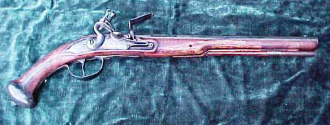 Ex. Rare Massive Dutch Military Flintlock Pistol, circa. 1675