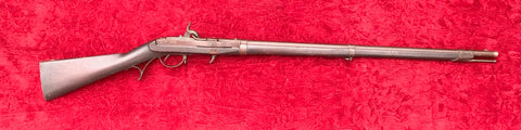 U.S. Military HARPERS FERRY Model 1819 HALL Flintlock Breech-Loading Rifle converted to percussion for the Civil War