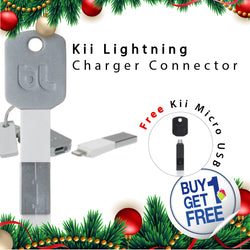 [ Buy 1 get 1 Free ] Bluelounge Kii Lightning ( White )