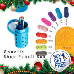 [ Buy 1 get 1 Free ] Goodils Shoe Pencil Box