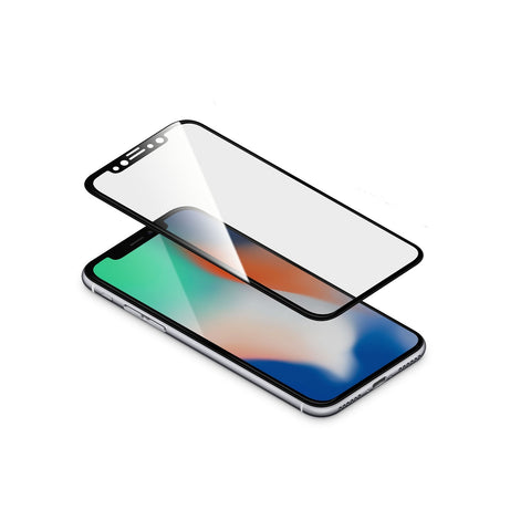 "TORRII BodyGlass Film for iPhone X (5.8"") - Black"