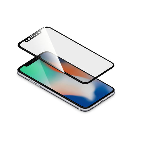 "TORRII BodyGlass 3D Film for iPhone X (5.8"") - Black"