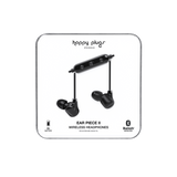Happy Plugs Ear Piece II Wireless - Black/Black