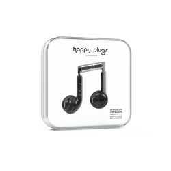 Happy Plugs Earbud Plus - Black Marble