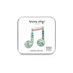 Happy Plugs Earbud Plus - Pink Flamingos