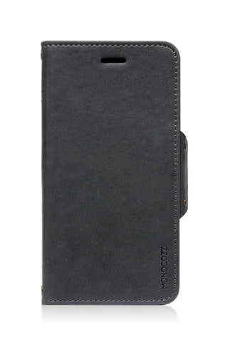 Monocozzi Lucid Folio | Leather Hard Flip Folio for iPhone 6