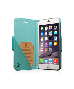 Monocozzi Lucid Folio | Leather Hard Flip Folio for iPhone 6 Plus