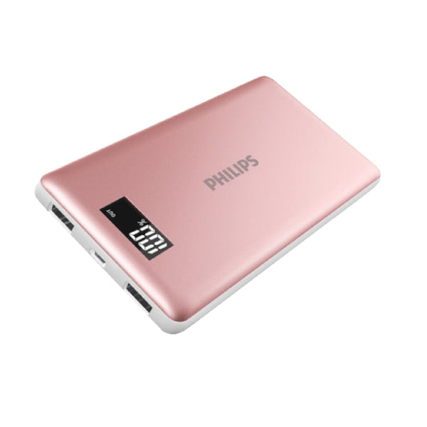 Philips Powerbank 10,000mAh Li-Polymer 2 USB (max 2.1A) with LED Display