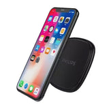 Philips Qi Wireless Charging Pad (10W) - Black