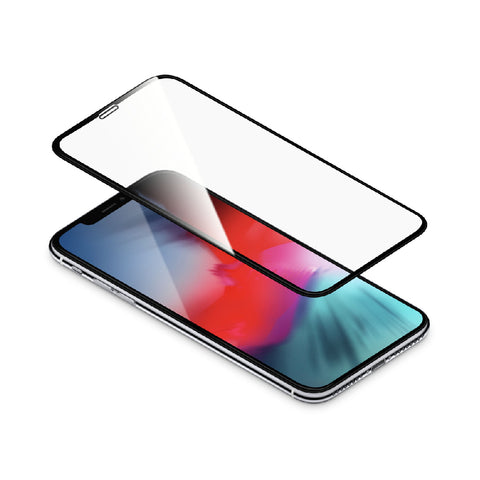 "TORRII Bodyglass for iPhone XS Max (6.5"") Full Coverage Curve – Black"
