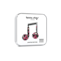 Happy Plugs Earbud Plus - Vintage Roses