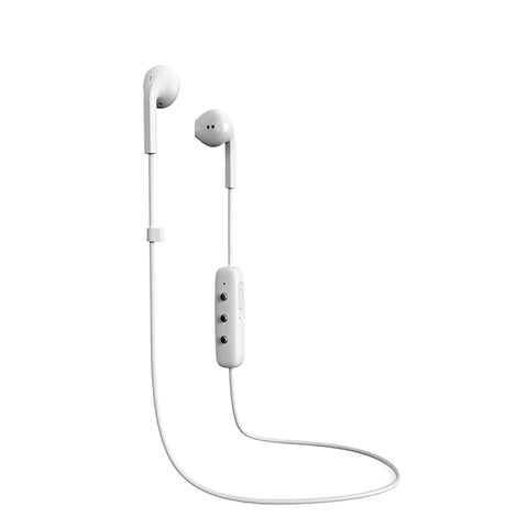 Happy Plugs Earbud Plus Wireless - White